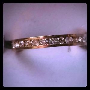 Jewelry - Eternity bands clear cz